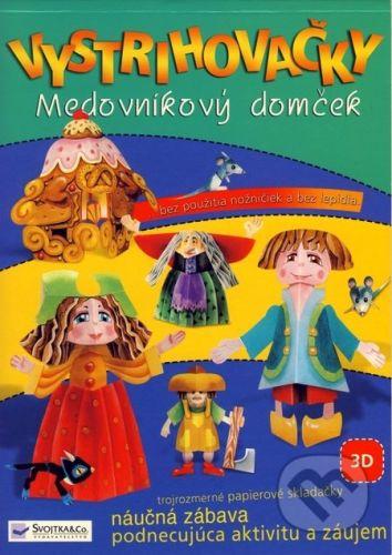Jitka Madrásová: Vystrihovačky Medovníkový domček cena od 63 Kč
