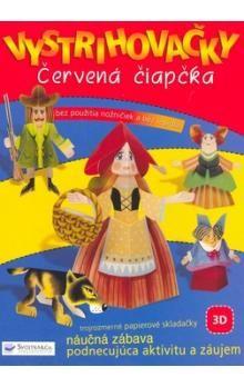 Jitka Madrásová: Vystrihovačky Červená čiapočka cena od 63 Kč