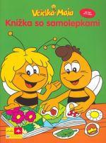 Svojtka Včielka Maja Knižka so samolepkami cena od 81 Kč