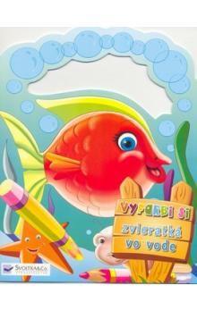 Svojtka Vyfarbi si zvieratká vo vode cena od 39 Kč