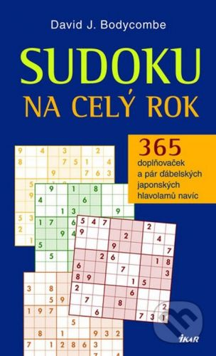 David J. Bodycombe: Sudoku na celý rok cena od 95 Kč