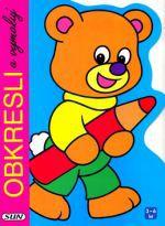 Jordi Busquets: Obkresli a vymaluj Medvěd cena od 62 Kč
