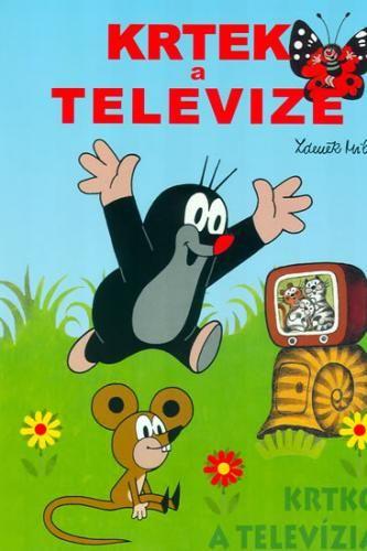 Zdeněk Miler: Krtek a televize - omalovánky A4 cena od 33 Kč