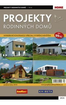 Kolektiv: Projekty Rodinných domů 2010 / 2 cena od 64 Kč