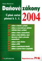 Hana Marková: Daňové zákony - ÚZ platná k 1.1.2004 cena od 68 Kč