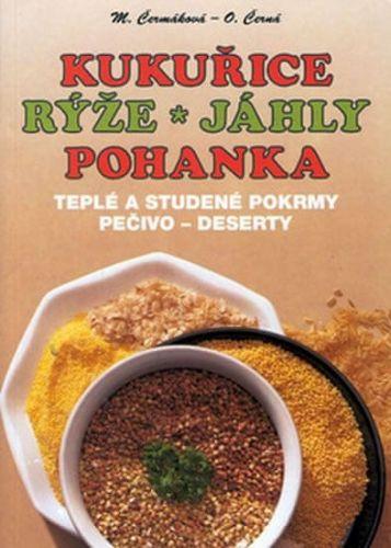 Mária Čermáková: Kukuřice, rýže, jáhly, pohanka cena od 59 Kč
