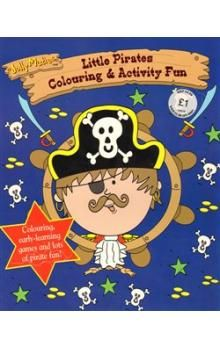 Igloo Books Jolly Maties - Little Pirates Colouring & Activities Fun cena od 47 Kč