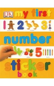 Dorling Kindersley Limited My First Number Sticker Book cena od 47 Kč