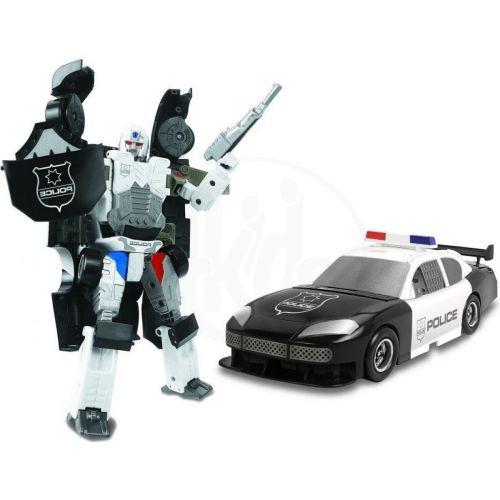 MAC TOYS X-Bot - policejní auto Mac Toys černé bílé cena od 0 Kč
