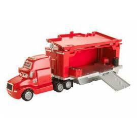 MATTEL Náklaďák s přívěsem Mattel Cars červený cena od 0 Kč
