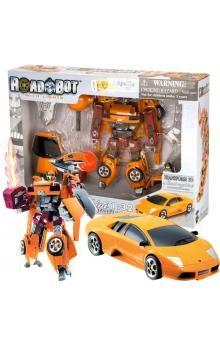 MAC TOYS Robot Lamborghini Murcielago 1:32 růžový oranžový cena od 293 Kč
