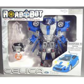 MAC TOYS Robot Toyota Celica 1:18 modrý cena od 469 Kč