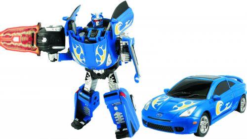 MAC TOYS Robot Toyota Celica 1:32 modrý