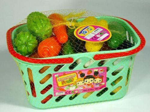 MAC TOYS Ovoce a zelenina v košíku cena od 214 Kč