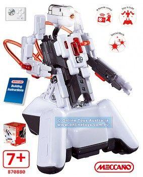 MECCANO Robot Meccano Spykee Micro Cell bílý