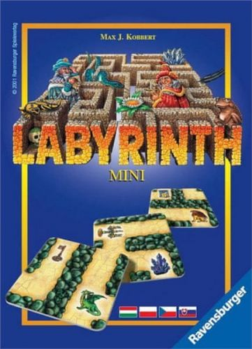 RAVENSBURGER Mini hra Ravensburger Labyrint