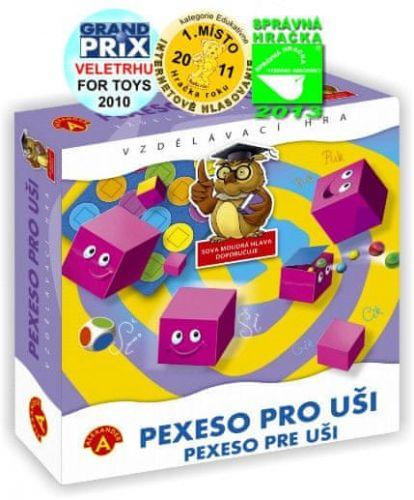 PEXI Pexeso pro uši cena od 225 Kč