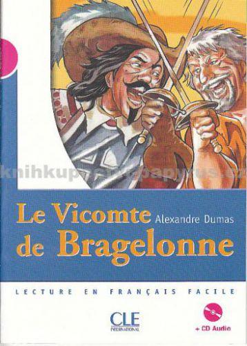 Le Vicomte de Bragelonne+CD - Alexandre Dumas cena od 140 Kč