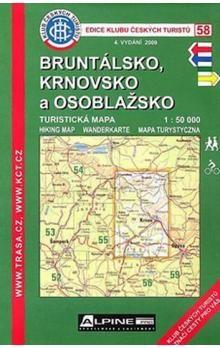 KČT 58 Bruntálsko, Krnovsko a Osoblažsko cena od 69 Kč