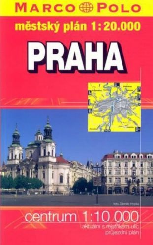 Praha 1:20 000 cena od 90 Kč