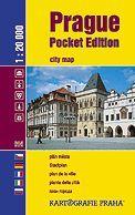 Kartografie PRAHA Prague Pocket edition cena od 79 Kč