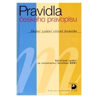 Martincová a Olga: Pravidla českého pravopisu – Školní vydání včetně Dodatku cena od 103 Kč