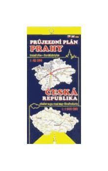 Žaket Průjezdní plán Prahy + ČR cena od 26 Kč