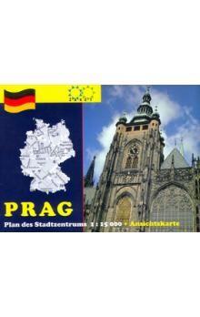 Žaket Prag Plan des Stadtzentrums 1:15 000 cena od 25 Kč