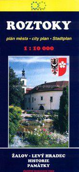 Žaket Roztoky Plán města 1:10 000 cena od 25 Kč