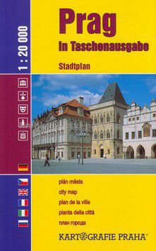 Kartografie PRAHA Prag in Taschenausgabe cena od 59 Kč