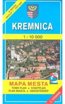 VKÚ Kremnica 1 : 10 000 Mapa mesta Town plan Stadtplan cena od 44 Kč