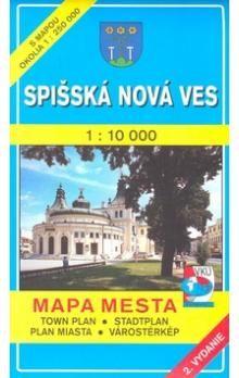 VKÚ Spišská Nová Ves 1 : 10 000 Mapa mesta Town plan S cena od 48 Kč