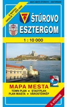 VKÚ Štúrovo Esztergom 1 : 10 000 Mapa mesta cena od 49 Kč