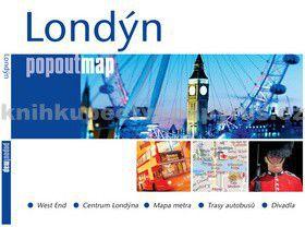 Londýn - popoutmap cena od 60 Kč