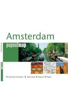 Amsterdam - popoutmap cena od 88 Kč