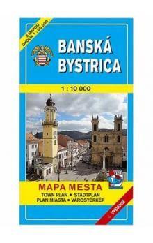 VKÚ Banská Bystrica Mapa mesta Town plan Stadtplan Pla cena od 65 Kč