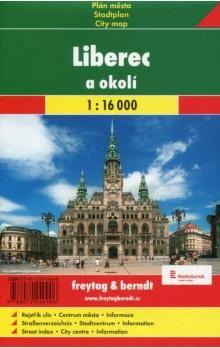 SHOCART Liberec a okolí 1:16 000 cena od 51 Kč