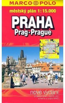 Praha 1:15.000 městský plán cena od 66 Kč