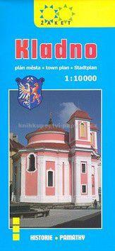 Žaket Kladno plán města 1:10 000 cena od 35 Kč