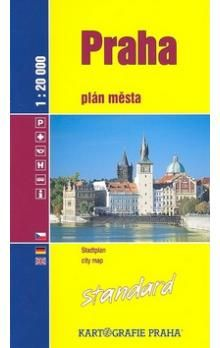 Kartografie PRAHA Praha Standard cena od 91 Kč