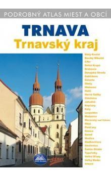 Mapa Slovakia Trnava Trnavský kraj cena od 155 Kč