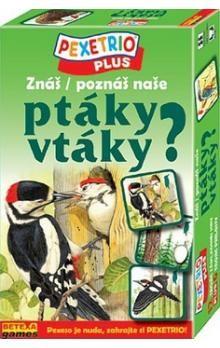 Pexetrio Plus Znáš naše ptáky?