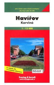 Freytag-Berndt Havířov, Karviná plán města cena od 53 Kč