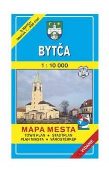 VKÚ Bytča Mapa mesta Town plan Stadtplan Plan miasta V cena od 42 Kč