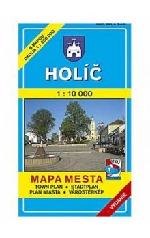 VKÚ Holíč Mapa mesta Town plan Stadtplan Plan miasta V cena od 44 Kč