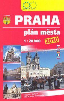 Žaket Praha plán města 2010 cena od 90 Kč