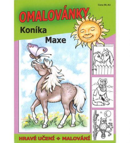 Omalovánky koníka Maxe cena od 99 Kč
