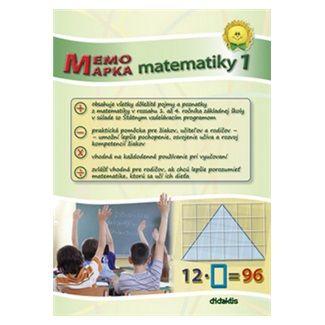 didaktis MemoMapka matematiky 1 cena od 105 Kč