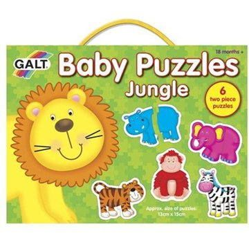 Galt: Puzzle pro nejmenší – zvířátka v džungli 2.