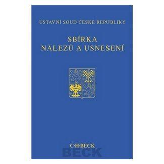Ústavní soud ČR: Sbírka nálezů a usnesení ÚS ČR + CD cena od 750 Kč